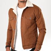 /achat-vestes-jean/black-needle-veste-col-mouton-5003-marron-ecru-196386.html