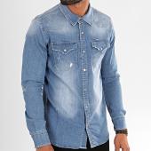 /achat-chemises-manches-longues/black-needle-chemise-jean-manches-longues-6933-bleu-denim-196411.html