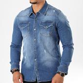/achat-chemises-manches-longues/black-needle-chemise-jean-manches-longues-6892-bleu-denim-196413.html