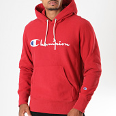 /achat-sweats-capuche/champion-sweat-capuche-212574-rouge-196289.html