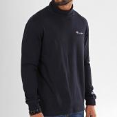 /achat-t-shirts-manches-longues/champion-tee-shirt-manches-longues-a-col-roule-213610-bleu-marine-196292.html