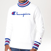 /achat-sweats-col-rond-crewneck/champion-sweat-col-montant-213698-blanc-196301.html