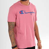 /achat-t-shirts/champion-tee-shirt-big-script-210972-rose-196321.html