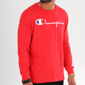 /achat-t-shirts-manches-longues/champion-tee-shirt-manches-longues-big-logo-213608-rouge-196332.html