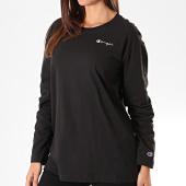 /achat-t-shirts-manches-longues/champion-tee-shirt-femme-manches-longues-110994-noir-196340.html