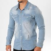 /achat-chemises-manches-longues/classic-series-chemise-jean-manches-longues-6933-bleu-wash-196358.html