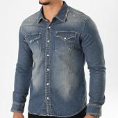 /achat-chemises-manches-longues/classic-series-chemise-jean-manches-longues-6573-bleu-denim-196359.html