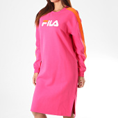 /achat-robes/fila-robe-pull-femme-a-manches-longues-avec-bandes-mitsuki-687256-rose-196307.html