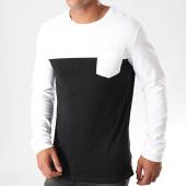 /achat-t-shirts-manches-longues/classic-series-tee-shirt-manches-longues-poche-h15970z21169a-noir-blanc-196513.html