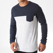 /achat-t-shirts-manches-longues/classic-series-tee-shirt-manches-longues-poche-h15970z21169a-gris-chine-bleu-marine-196514.html