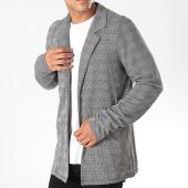 /achat-cardigans-gilets/classic-series-veste-a-carreaux-h1788o43355a-noir-blanc-196603.html
