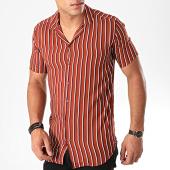 /achat-chemises-manches-courtes/mtx-chemise-manches-courtes-pb004-brique-196444.html