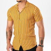 /achat-chemises-manches-courtes/mtx-chemise-manches-courtes-pb004-jaune-moutarde-196462.html