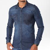 /achat-chemises-manches-longues/mtx-chemise-jean-manches-longues-pb008-bleu-denim-196468.html
