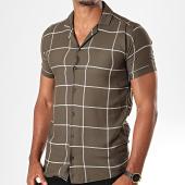 /achat-chemises-manches-courtes/mtx-chemise-manches-courtes-a-carreaux-pb006-vert-kaki-196472.html