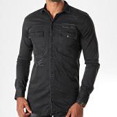 /achat-chemises-manches-longues/mtx-chemise-jean-manches-longues-pb012-noir-196480.html