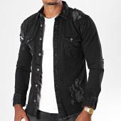 /achat-chemises-manches-longues/mtx-chemise-jean-manches-longues-pb014-noir-196483.html