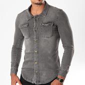 /achat-chemises-manches-longues/mtx-chemise-jean-manches-longues-pb011-gris-196487.html