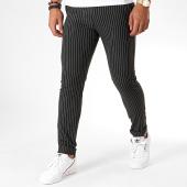 /achat-pantalons-carreaux/mtx-pantalon-a-rayures-dj513-noir-196495.html