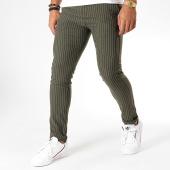 /achat-pantalons-carreaux/mtx-pantalon-a-rayures-dj512-vert-kaki-196497.html