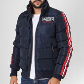/achat-vestes/superdry-veste-zippee-a-bandes-icon-sports-puffer-m5000057a-bleu-marine-196597.html