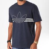 /achat-t-shirts/adidas-tee-shirt-outline-trefoil-ed4701-bleu-marine-fonce-blanc-196753.html