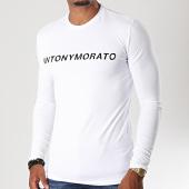 /achat-t-shirts-manches-longues/antony-morato-tee-shirt-manches-longues-abbigliamento-mmkl0252-blanc-noir-196683.html