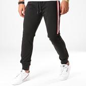 /achat-pantalons-joggings/antony-morato-pantalon-jogging-a-bandes-abbigliamento-mmfp00247-noir-196695.html