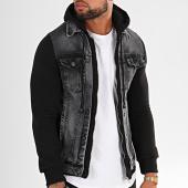 /achat-vestes-jean/classic-series-veste-jean-a-capuche-gw3022-gris-noir-196694.html