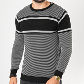 /achat-pulls/classic-series-pull-a-rayures-3167-noir-gris-chine-196697.html