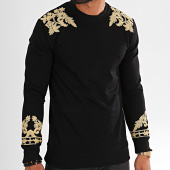 /achat-sweats-col-rond-crewneck/classic-series-sweat-crewneck-tiger-8-noir-196749.html