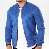 /achat-vestes/classic-series-veste-zippee-suedine-ms3123-bleu-roi-196807.html