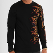 /achat-sweats-col-rond-crewneck/classic-series-sweat-crewneck-tiger-5-noir-196814.html