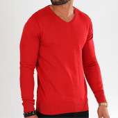 /achat-pulls/classic-series-pull-col-v-avp-103-rouge-196820.html