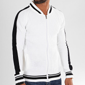 /achat-cardigans-gilets/classic-series-gilet-zippe-a-bandes-g-3174-blanc-196823.html
