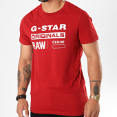/achat-t-shirts/g-star-tee-shirt-graphic-8-d14143-336-rouge-196625.html