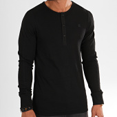 /achat-t-shirts-manches-longues/g-star-tee-shirt-slim-manches-longues-ardor-granddad-d14444-1141-noir-196627.html