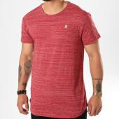 /achat-t-shirts-longs-oversize/g-star-tee-shirt-oversize-starkon-d15105-b140-rouge-chine-196667.html