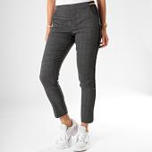 /achat-pantalons-carreaux/le-temps-des-cerises-pantalon-carreaux-a-bandes-marker-gris-noir-dore-196756.html