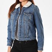 /achat-vestes-jean/only-veste-jean-femme-col-mouton-chris-bleu-denim-196713.html