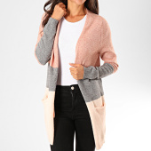 /achat-cardigans-gilets/only-gilet-femme-queen-rose-chine-gris-chine-rose-clair-196715.html