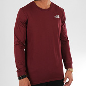 /achat-t-shirts-manches-longues/the-north-face-tee-shirt-manches-longues-simple-dome-3l3b-bordeaux-196762.html