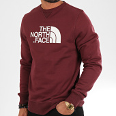 /achat-sweats-col-rond-crewneck/the-north-face-sweat-crewneck-drew-peak-2zwr-bordeaux-196763.html