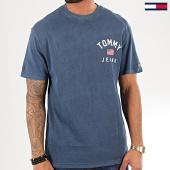 /achat-t-shirts/tommy-hilfiger-jeans-tee-shirt-chest-logo-7008-bleu-marine-196632.html