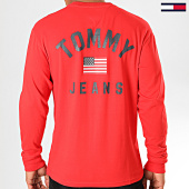 /achat-t-shirts-manches-longues/tommy-jeans-tee-shirt-manches-longues-us-flag-7066-rouge-196642.html