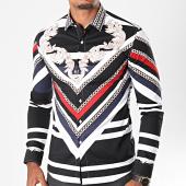 /achat-chemises-manches-longues/classic-series-chemise-manches-longues-2231-noir-blanc-renaissance-floral-196993.html