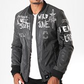 /achat-bombers/sixth-june-bomber-m3927cja-gris-anthracite-196916.html