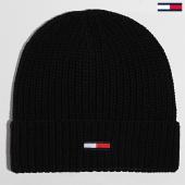 /achat-bonnets/tommy-hilfiger-bonnet-basic-flag-rib-5191-noir-196924.html