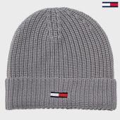 /achat-bonnets/tommy-hilfiger-jeans-bonnet-basic-flag-rib-5191-gris-chine-196925.html