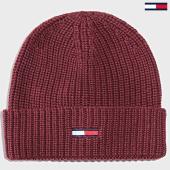 /achat-bonnets/tommy-hilfiger-bonnet-basic-flag-5191-bordeaux-196926.html